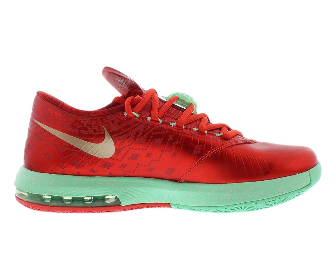 save off fdb48 3e97c Amazon.com   Nike Mens KD VI Christmas Synthetic Basketball Shoes    Basketball