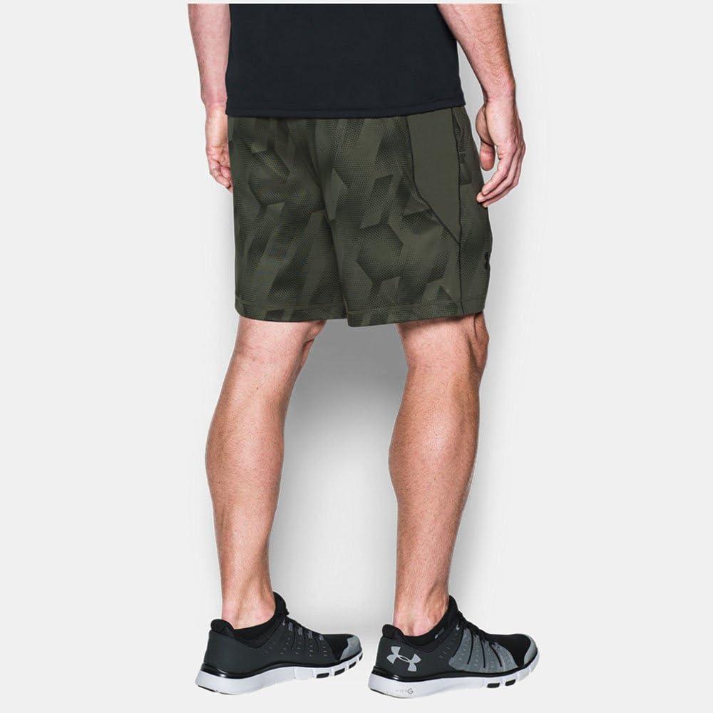 Hosen /& Shorts Under Armour Shorts Raid 8 Printed Herren Fitness