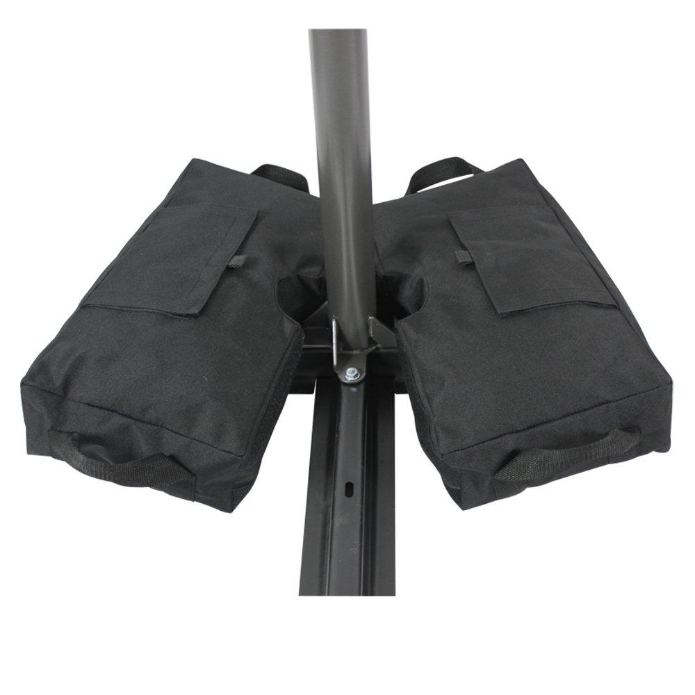 Haushalt International Custodia Protettiva Copertura in Alluminio ombrellone 300/cm Antracite 61049
