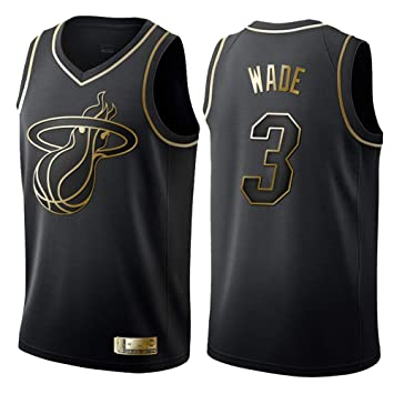 huge selection of efac1 65ed0 Men's Women Jersey - NBA Miami Heat 3# Wade Embroidered Mesh ...