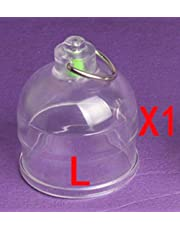 JSSMATE Accessories Penisvergrößerungsgerät Enhancement Cup (ONLY 1pc/L SIZE CUP)