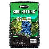 MEKKAPRO Heavy Duty Bird Netting, Garden Nets for Fruit, Vegetable, Plant Trees | Deer Netting and Fencing | Anti-Bird, Deer and Pests Net (7.2 x 65 feet)