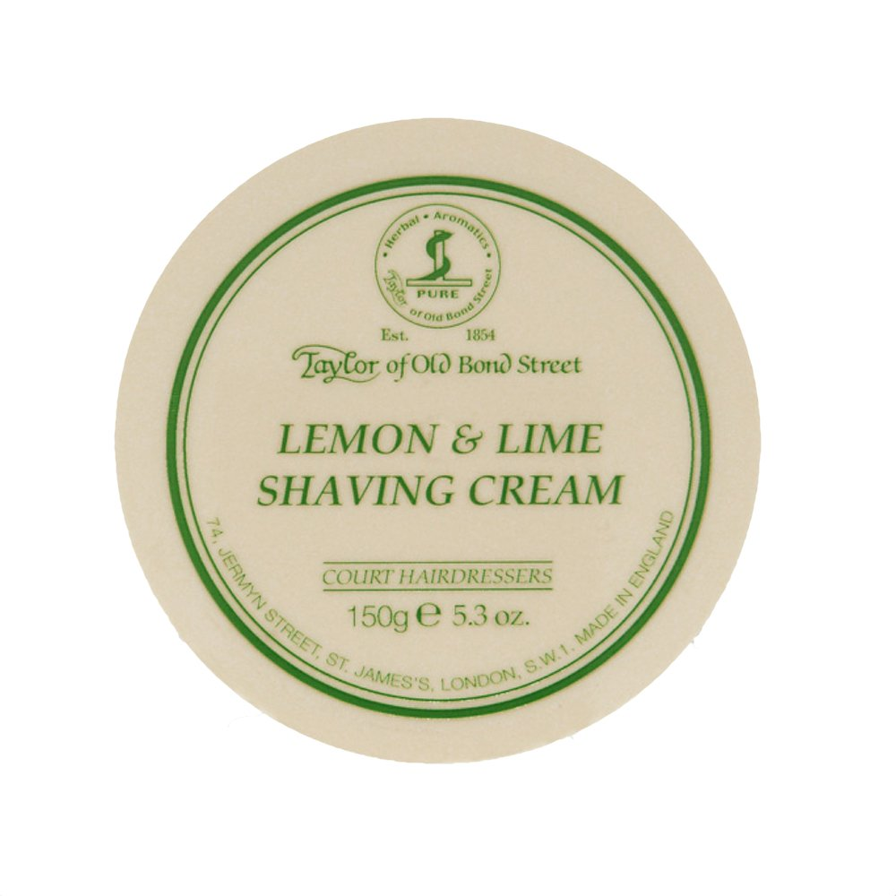 Taylor of Old Bond Street Lemon and Lime Shaving Cream (150 g) 01005