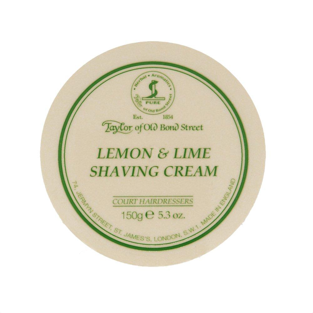 Shaving & Hair Removal Taylor Of Old Bond Street Lemon And Lime Luxury Shaving Cream Bowl Foam 150g Pot Health & Beauty