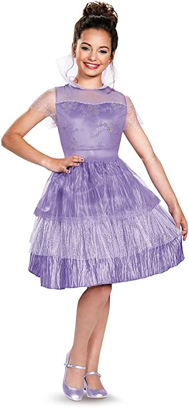 Disguise 88134L Mal Coronation Deluxe Costume, Small (4-6x) by ...