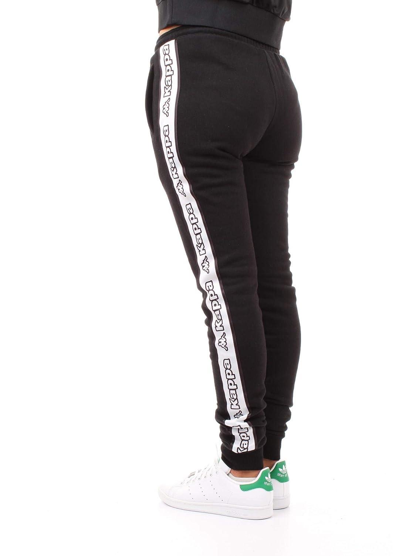 Kappa 304M6K0 Pantalones Mujer Negro XS: Amazon.es: Deportes y ...