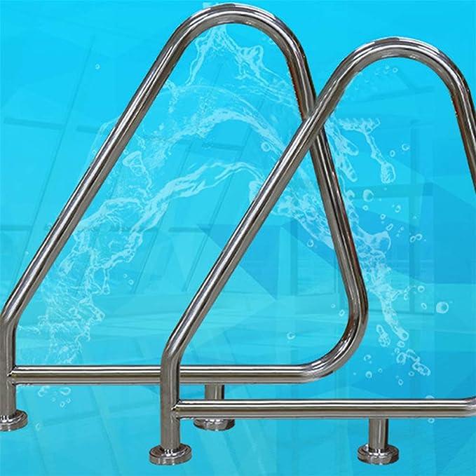 Barandilla de acero inoxidable para piscina multifunción, escalera subacuática, seguridad Resistente, resistente al desgaste, resistente a la corrosión, fácil de instalar, para piscina Jacuzzi Spa: Amazon.es: Hogar