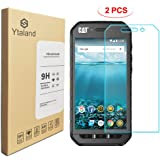 [2 Pack] Ytaland Screen Protector for Cat S41, [0.3mm, 2.5D] [Anti-Fingerprints] [Bubble-Free] [9H Hardness] [HD Clear…