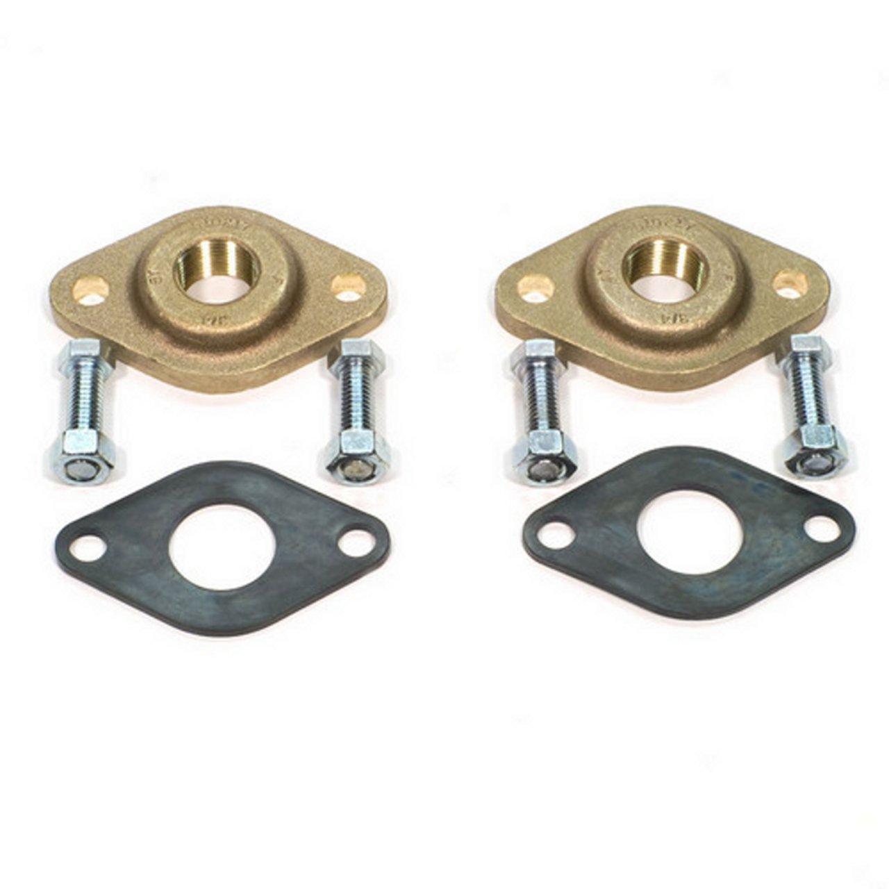 Grundfos 519652 1-Inch GF 15/16 Bronze Flange Set