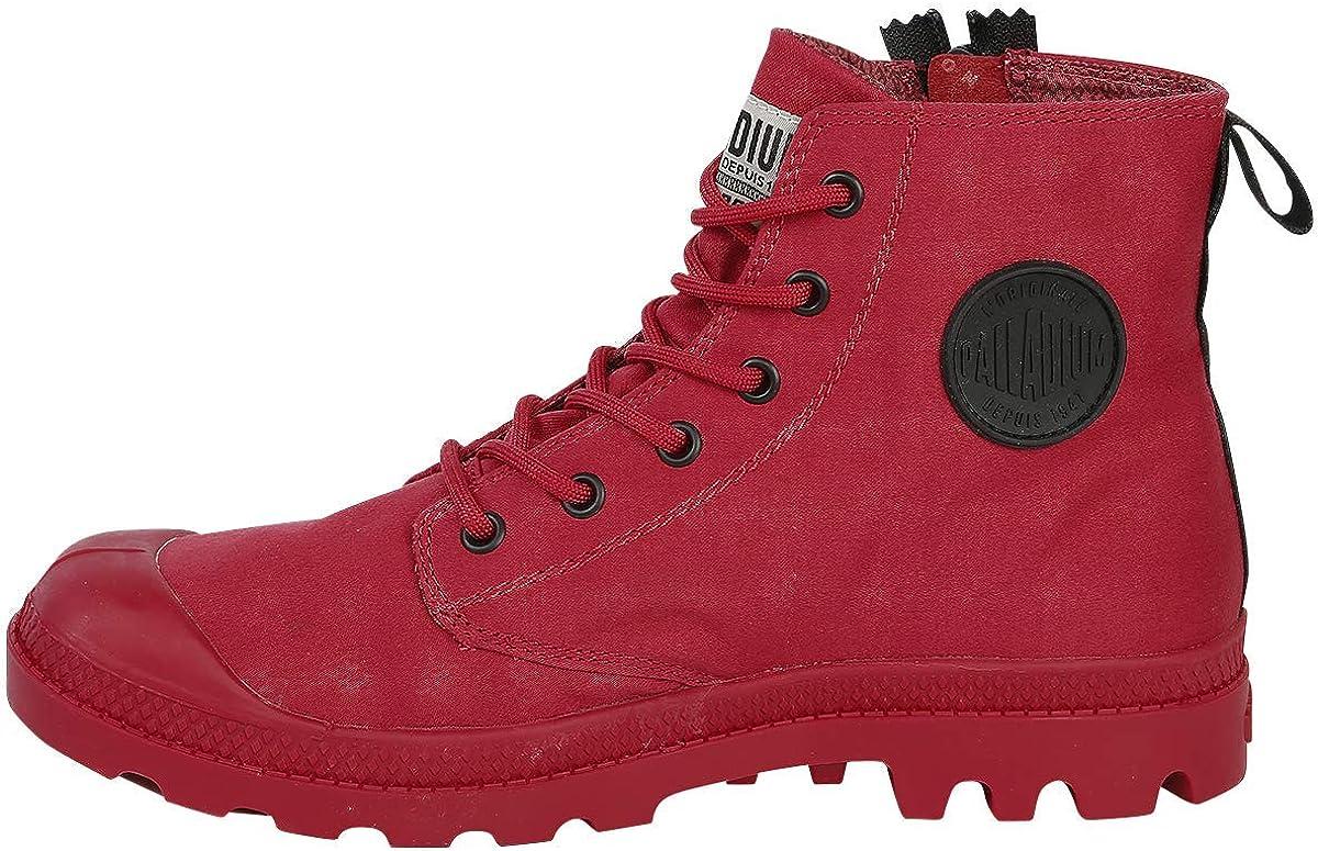 Palladium Pampa Unzipped Boots Shoes Red Red