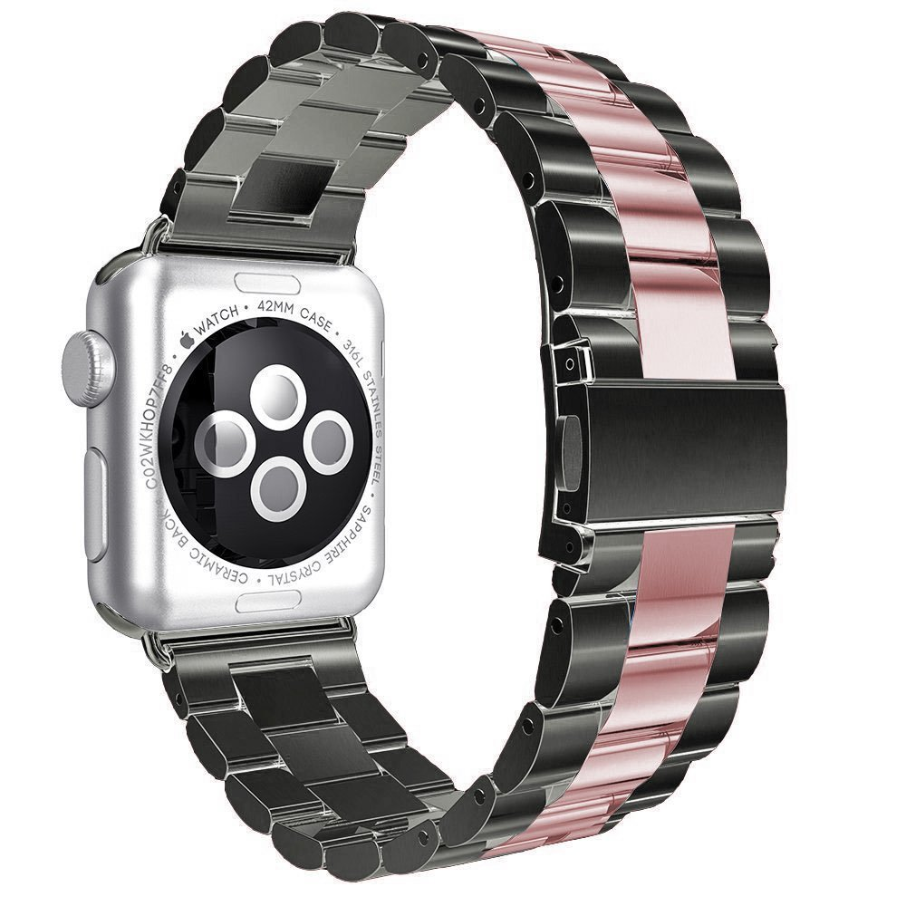Amazon com: for Apple Watch Band Stainless Steel Smart Watch
