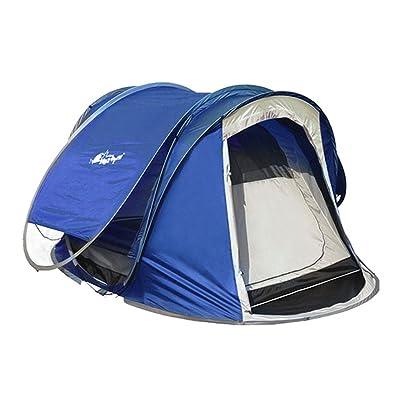 2 Secondes Fast Open Entièrement automatique Outdoor Grande Tente 2-3-4 Personnes Multijoueur Double Outdoor Camping