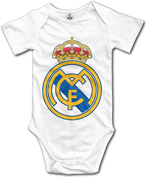 e7975aceb Amazon.com  Real Madrid C.F Football Logo Toddler Baby Onesie ...