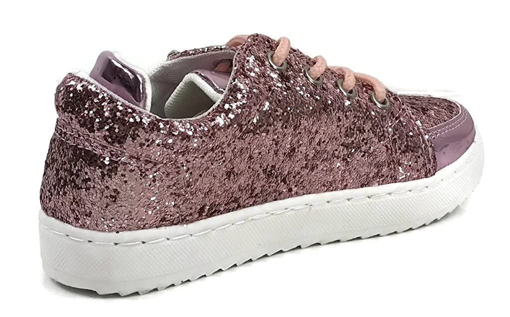 Link Girls Kids Athletic Glitter Fashion Sneakers Ultra-49