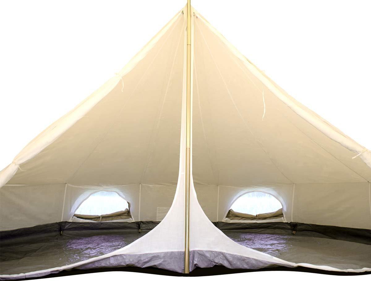 Für Innen 5 m Bell Zelt. EINZELZIMMER. One Platz. Camping. Life unter Leinwand