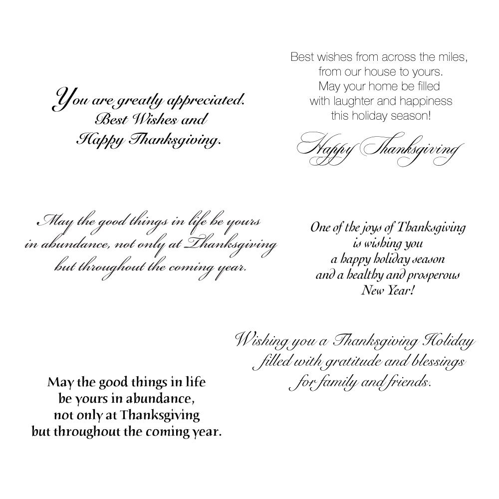 Amazon Thanksgiving Greeting Card Assortment A Variety Box