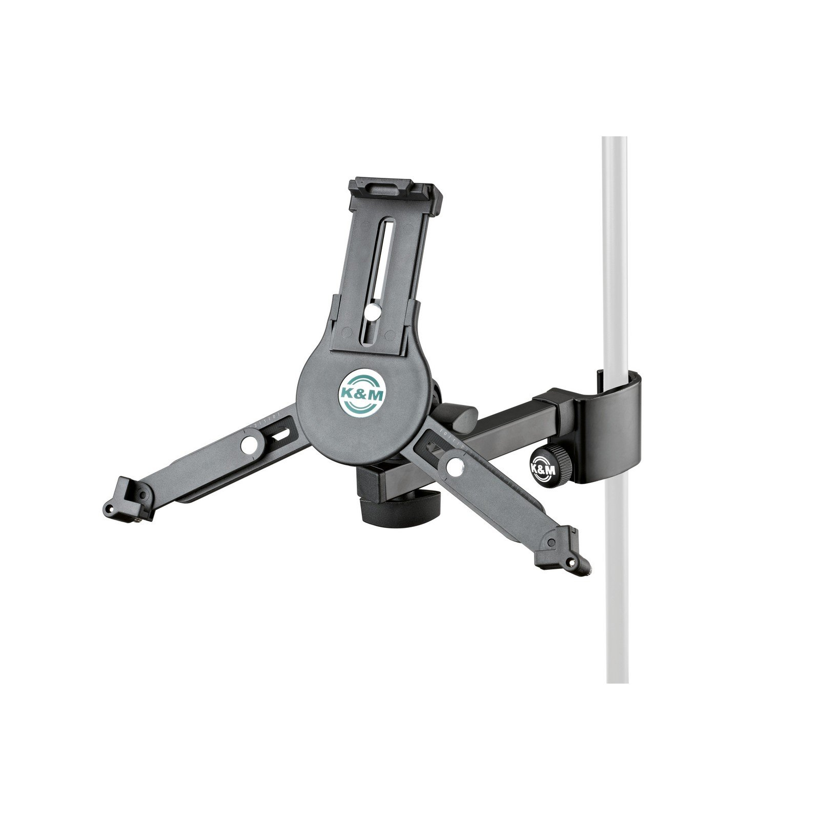 K&M 19791 | Universal Tablet Clamp on Stand Holder