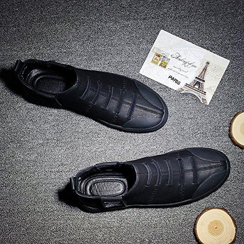 HL-PYL - Die neuen Männer Schuhe Gobon Schuhe Casual schuhe schuhe schuhe Europe Martin Stiefel 43 Schwarz 814788
