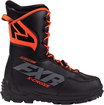 New 2019 FXR X-Cross Men/'s Speed Boot Black Snowmobile Boots 11