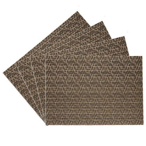 Benson-Mills-Oasis-Vinyl-Placemat-Copper-Set-of-4