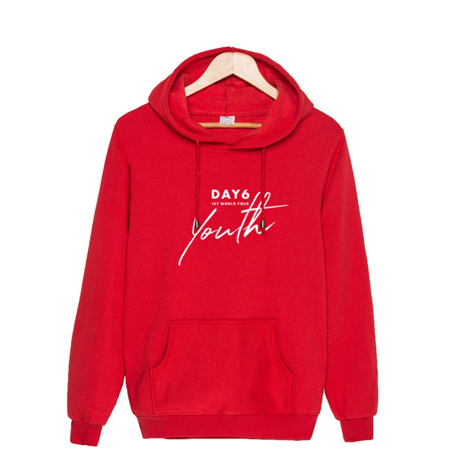 Kpop DAY6 Hoodie 1ST World Tour Youth Jae Sung Jin Young K Won Pil Do Woon Sweater Pollover Jacket