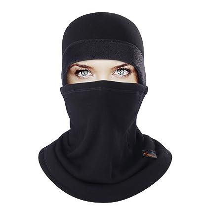 Amazon.com  BINMEFVN Balaclava - Cold Weather Face Mask - Winter ... 35198ccf26