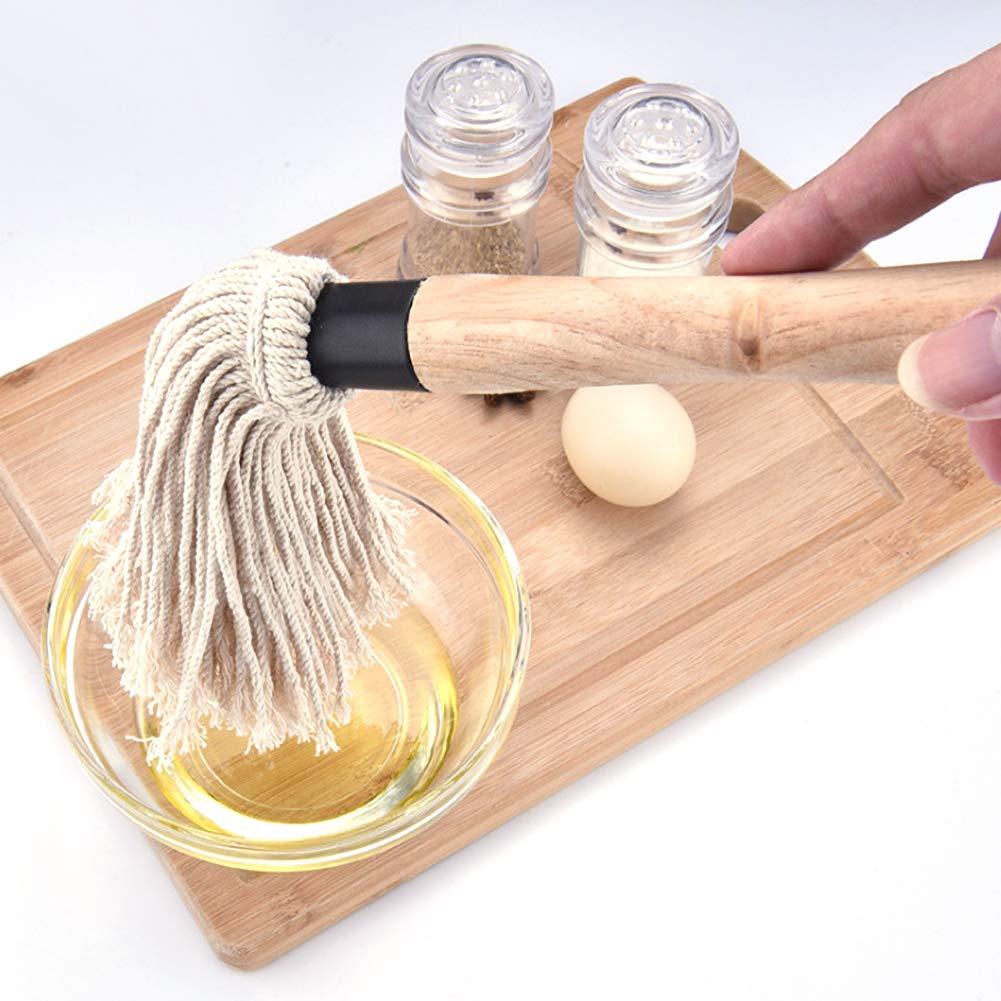 FUPOJW Grillpinsel-Grillmopp Professioneller Grillpinsel-Grillmopp zum Braten
