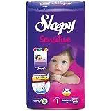 Sleepy 1 Beden Bebek Bezi Yenidoğan 2-5 kg, 40 adet