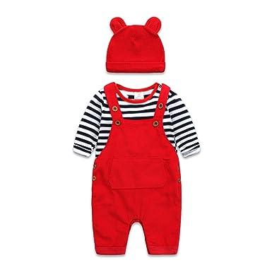 dbfdfa7d0 Amazon.com  Boarnseorl Newborn Baby Boy and Girl Clothes Set Infant ...