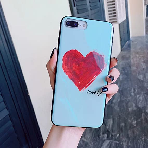 Amazon Com Simple Wind Graffiti Love Cell Phone Shell Blue Cell