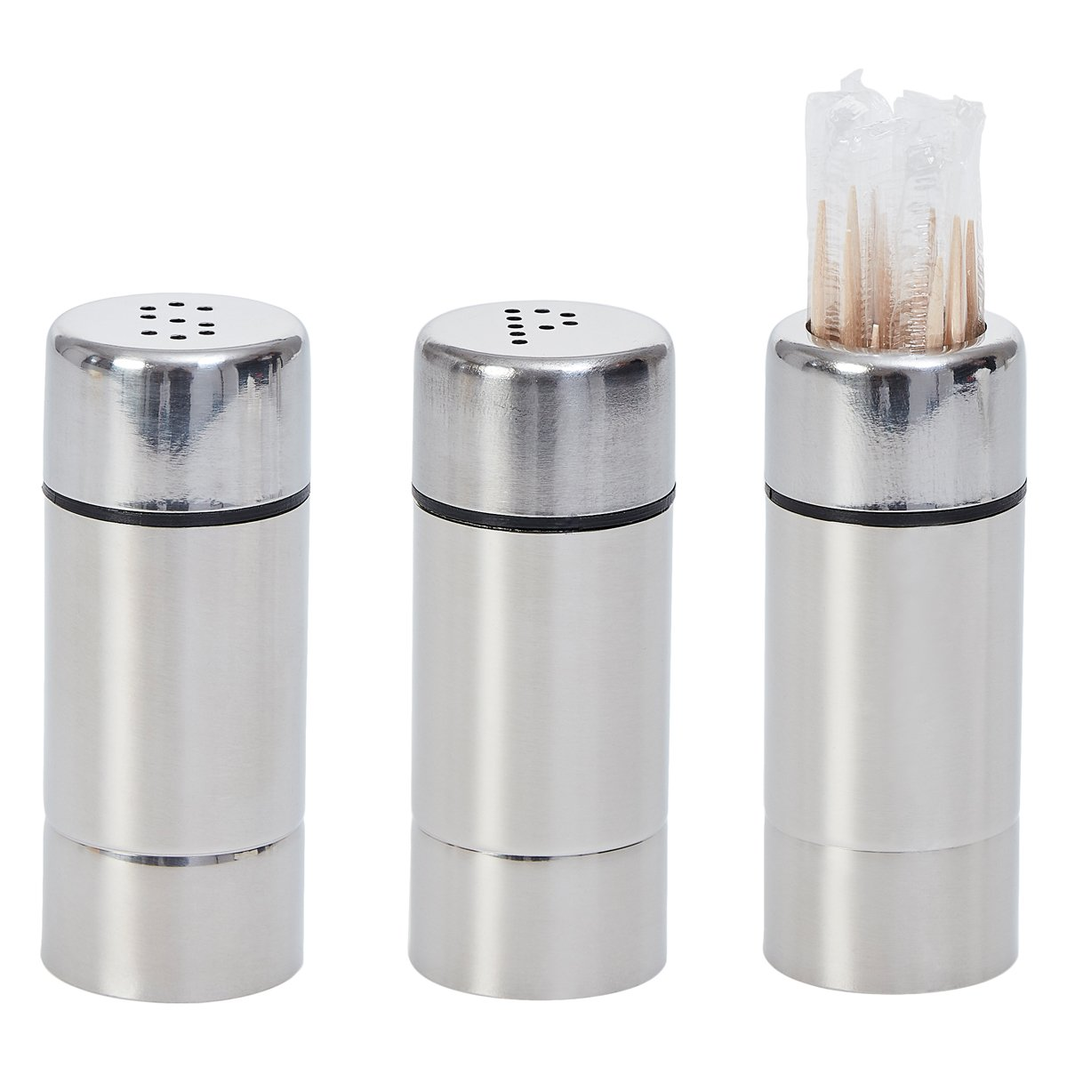 Decor Service Set Silver Stainless Steel 7.2/x 2.9/cm