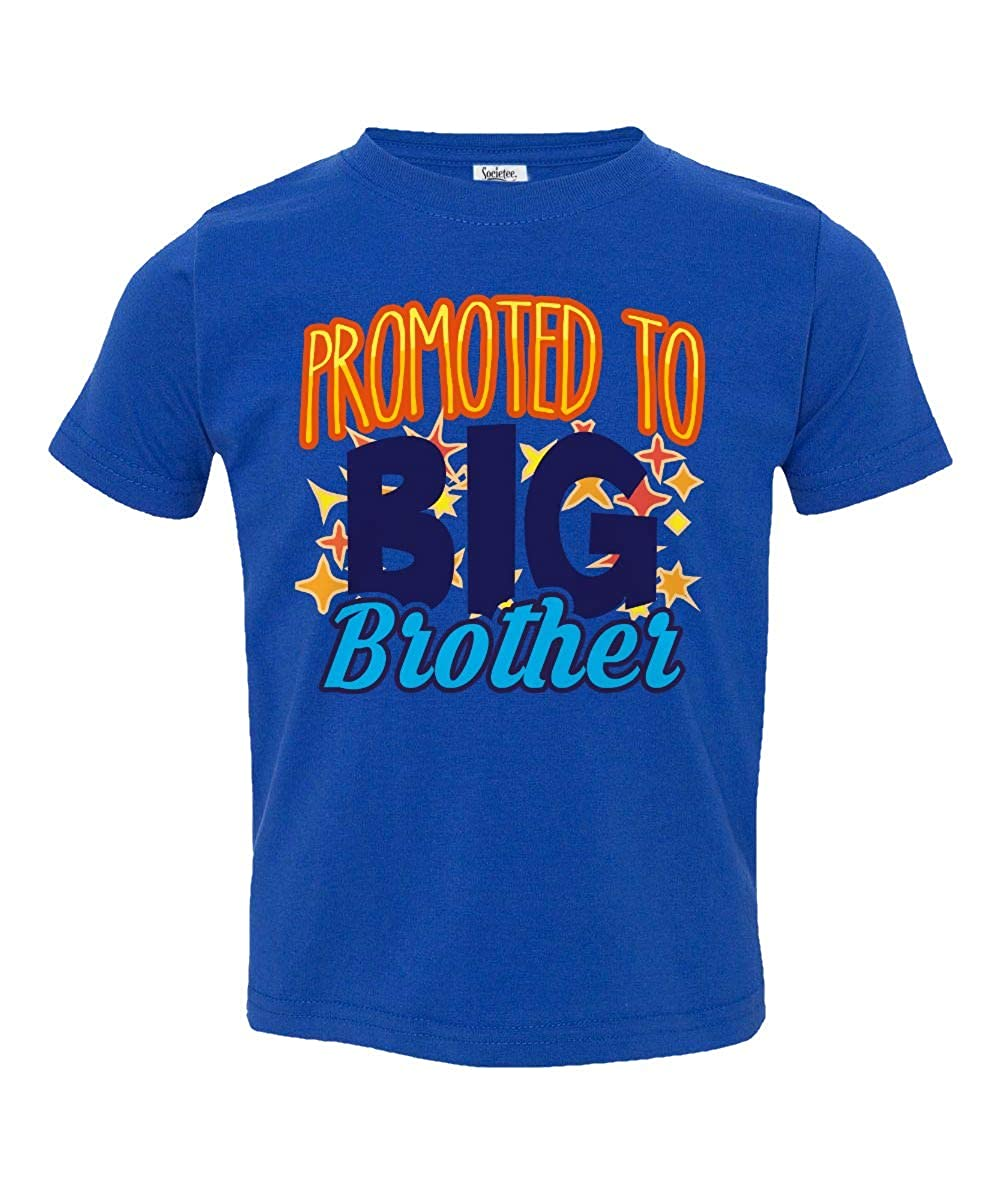 Societee Promoted to Big Brother Little Kids Girls Boys Toddler T-Shirt