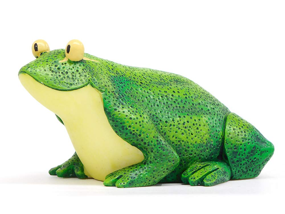Enesco Home Grown from Lime Frog Figurine 1.8 in