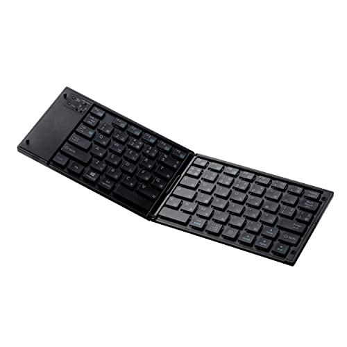 エレコム ワイヤレスBluetoothキーボード TK-FLP01BK