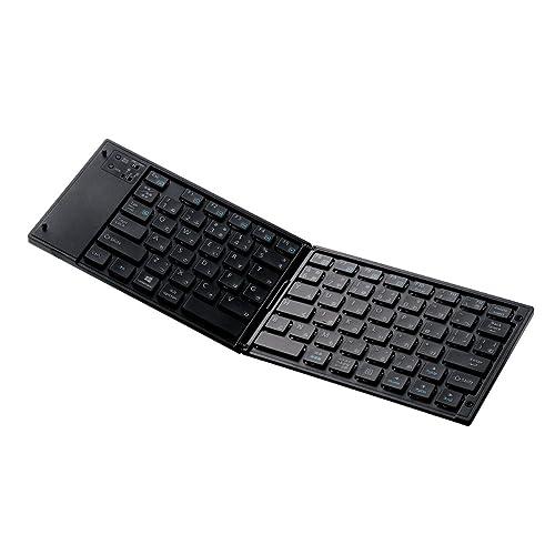 ELECOM ワイヤレスBluetoothキーボード TK-FLP01