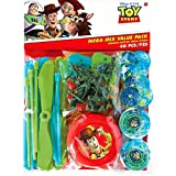 """Toy Story Power Up Birthday Party Mega Mix Assorted Favor Kit, Pack Of 48, Red/Green/Blue , 11"""" X 9"""" (Pkg. Size), Plastic"""