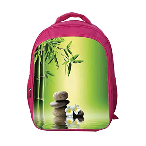 1f6e63078ac7 Image Unavailable. Image not available for. Color: iPrint School Bags Kid's  Backpacks Custom ...