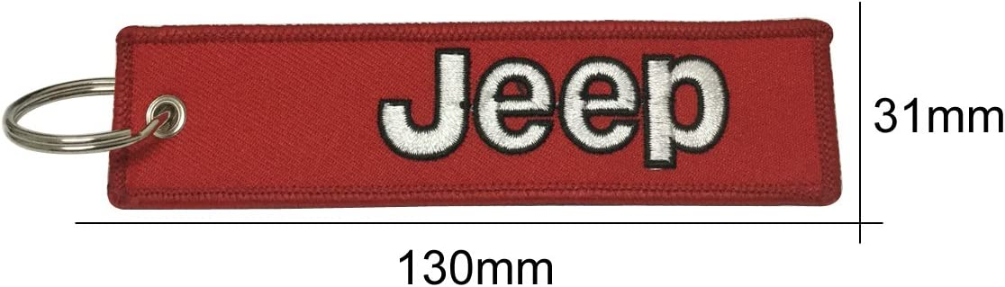 1pcs Tag Keychain for Jeep Car Keychain Accessories Sporty Gifts