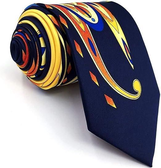 Shlax/&Wing Ripple Blue New Men Design Necktie Ties Wedding Graduated Color