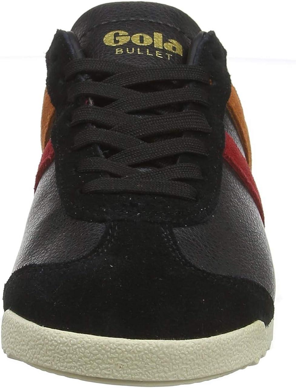 Gola Bullet Trident, Sneaker Donna Nero Black Multi Bz 73ddi3