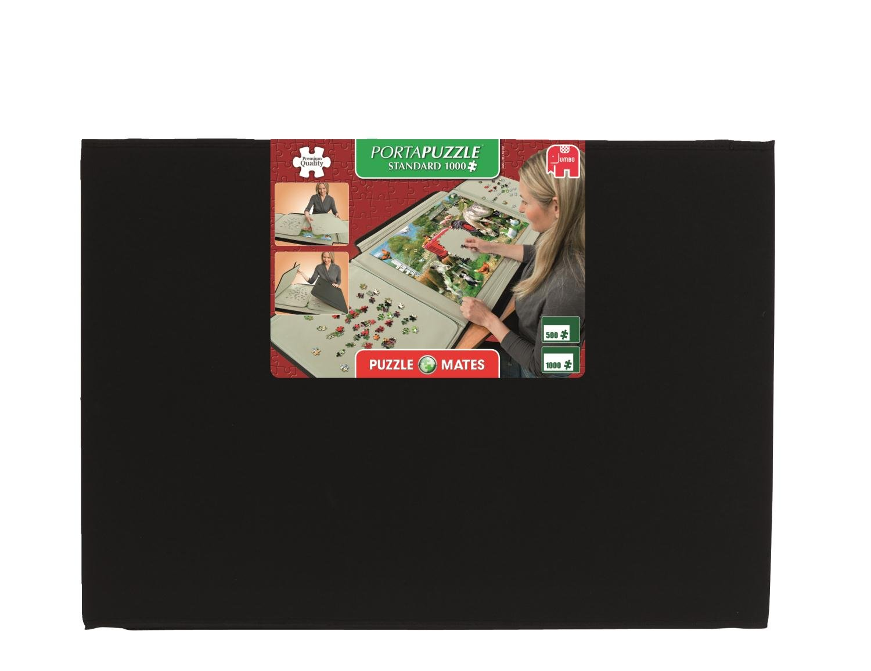 Jumbo 10715 - Puzzle Mates, Portapuzzle Standard, 1000 Teile Jumbo Spiele RDP-40307 Architektur Puzzlezubehör