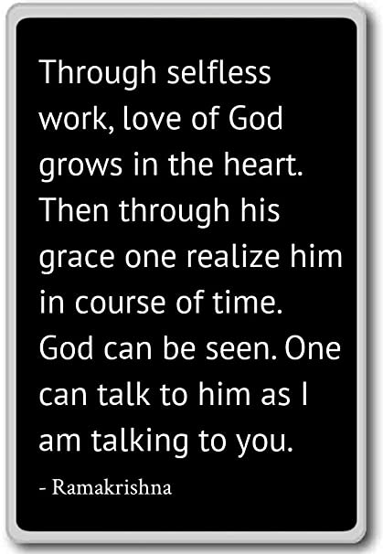 Amazoncom Through Selfless Work Love Of God Grows In The