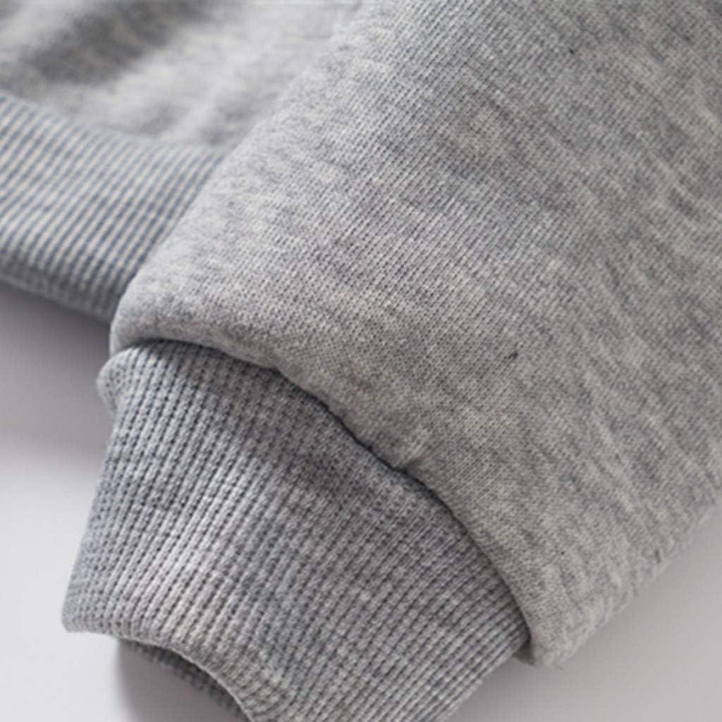 KYLEON Womens Mens Girls Unisex Hoodies Print Long Sleeve Pullover Hooded Sweatshirts Casual Sweaters Jumpers Tops