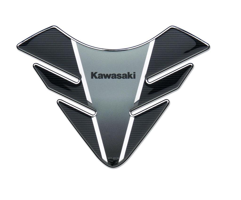 Nouveau Noir Argent/é KAWASAKI Z650/R/éservoir Pad