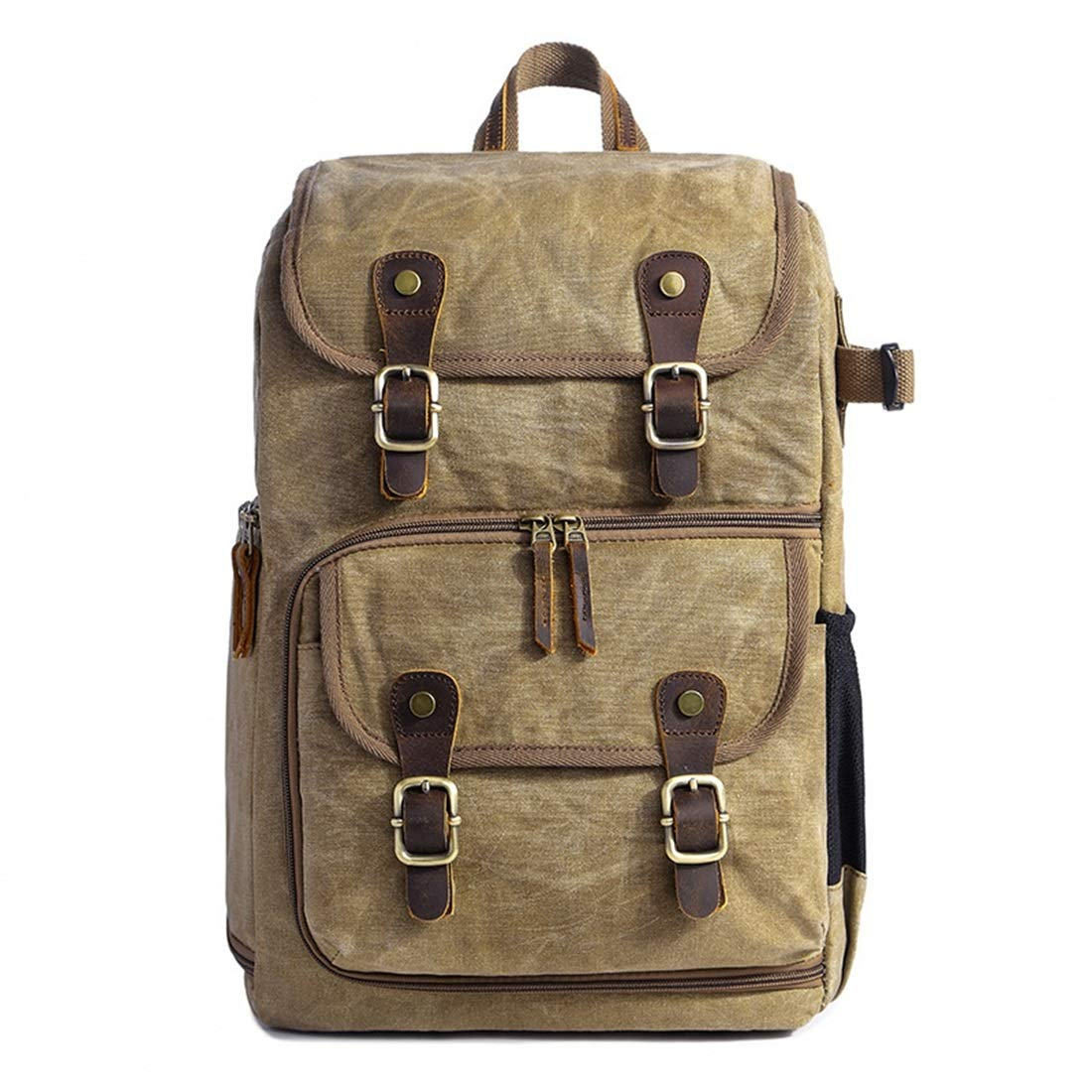 AIYAMAYA Photography Camera SLR Shoulder Photography Backpack Waterproof Large Capacity Batik Backpack Outdoor Bag