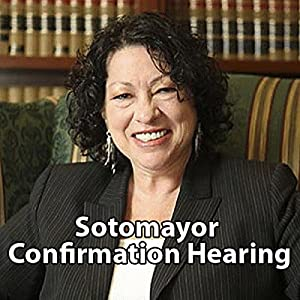 Sonia Sotomayor Confirmation Hearing Speech