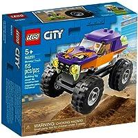 لعبة شاحنة مونستر من مركبات سيتي الرائعة للاطفال من عُمر 5 سنوات فما فوق 60251 من ليغو