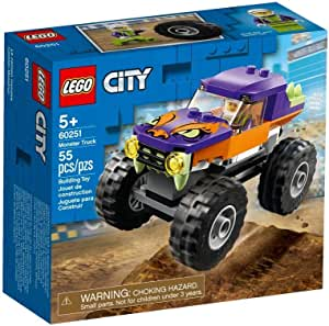 LEGO City Great Vehicles Monster Truck for age 5+ years old 60251
