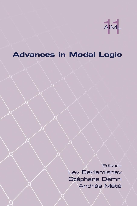 Advances in Modal Logic Volume 11 PDF