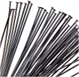 Black Plated Brass Head Pins 2 Inches / 21 Gauge (x50)